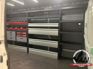 Zabudowa serwisowa Peugeot Boxer L4H2