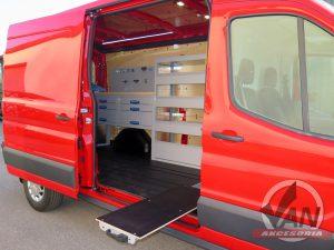 Ford Transit zabudowa serwisowa